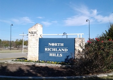 North Richland Hills Solar Sign
