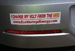 I charge my Volt From the Sun
